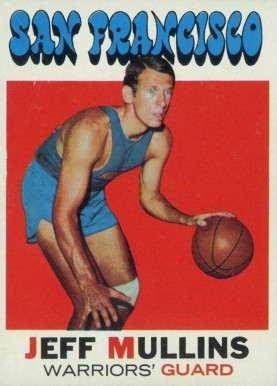 1971 Topps Jeff Mullins #115 Basketball Card