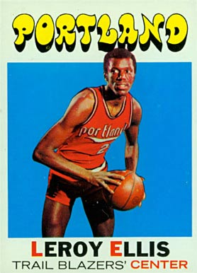 1971 Topps Leroy Ellis #111 Basketball Card