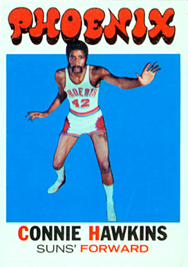 1971 Topps Connie Hawkins #105 Basketball Card
