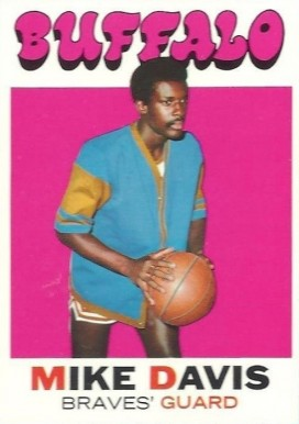 1971 Topps Mike Davis #99 Basketball Card