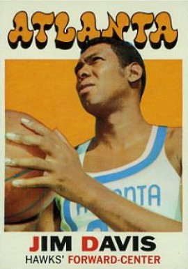 1971 Topps Jim Davis #97 Basketball Card