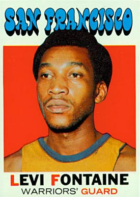 1971 Topps Levi Fontaine #92 Basketball Card