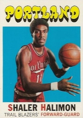 1971 Topps Shaler Halimon #89 Basketball Card