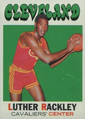 1971 Topps Luther Rackley #88 Basketball Card