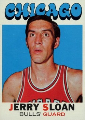 1971 Topps Jerry Sloan #87 Basketball Card