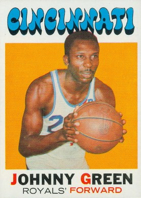 1971 Topps Johnny Green #86 Basketball Card