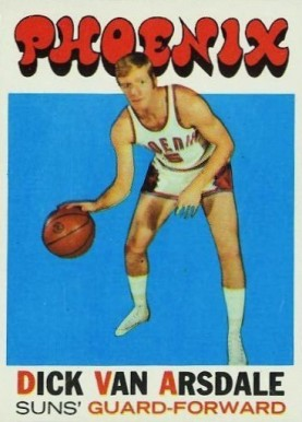 1971 Topps Dick Van Arsdale #85 Basketball Card