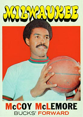 1971 Topps Mccoy McLemore #83 Basketball Card