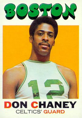 1971 Topps Don Chaney #82 Basketball Card