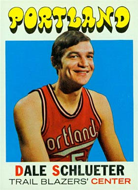 1971 Topps Dale Schlueter #76 Basketball Card