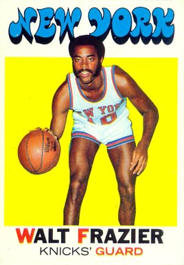 1971 Topps Walt Frazier #65 Basketball Card