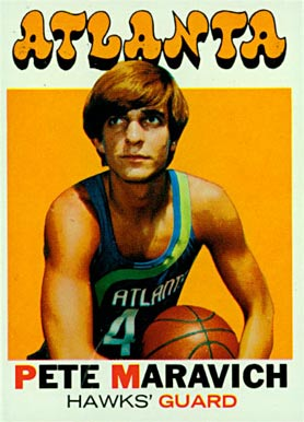1971 Topps Pete Maravich #55 Basketball Card