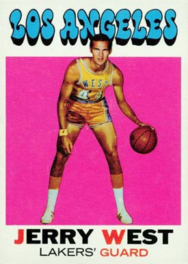 1971 Topps Jerry West #50 Basketball Card
