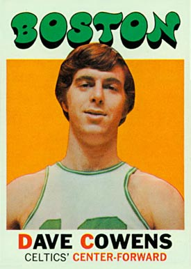 1971 Topps Dave Cowens #47 Basketball Card