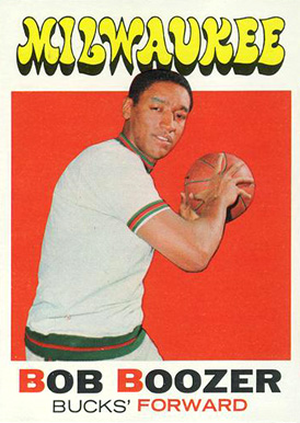 1971 Topps Bob Boozer #43 Basketball Card