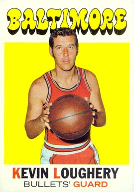 1971 Topps Kevin Loughery #7 Basketball Card