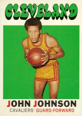 1971 Topps John Johnson #4 Basketball Card