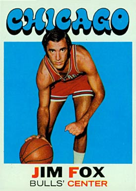 1971 Topps Jim Fox #3 Basketball Card