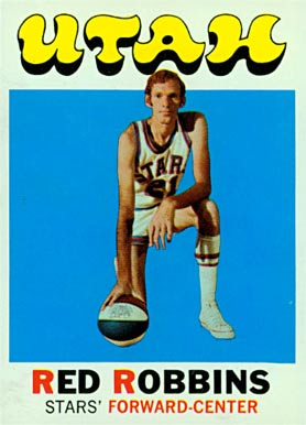 1971 Topps Red Robbins #233 Basketball Card