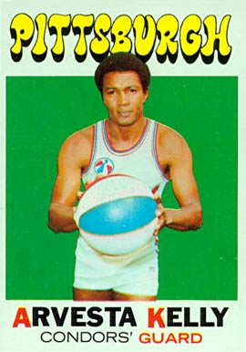 1971 Topps Arvesta Kelly #228 Basketball Card