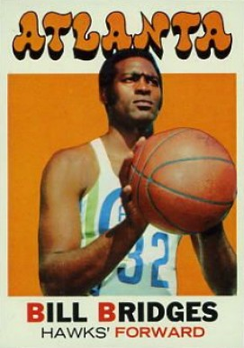 1971 Topps Bill Bridges #132 Basketball Card
