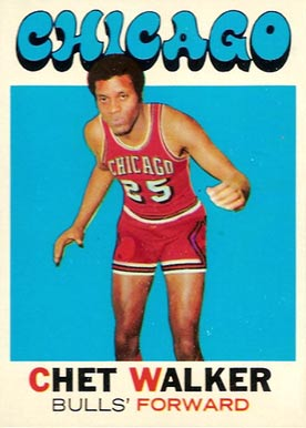 1971 Topps Chet Walker #66 Basketball Card