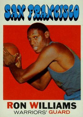 1971 Topps Ron Williams #38 Basketball Card