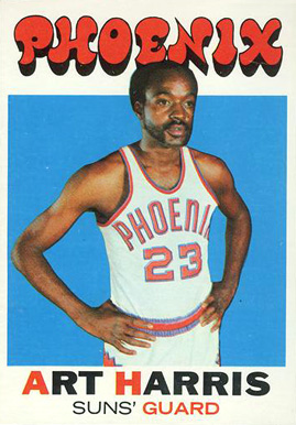 1971 Topps Art Harris #32 Basketball Card