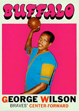 1971 Topps George Wilson #26 Basketball Card
