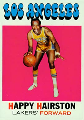 1971 Topps Happy Hairston #25 Basketball Card