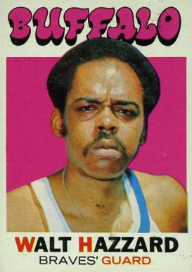 1971 Topps Walt Hazzard #24 Basketball Card