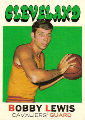 1971 Topps Bobby Lewis #22 Basketball Card