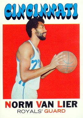 1971 Topps Norm Van Lier #19 Basketball Card