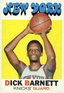 1971 Topps Dick Barnett #17 Basketball Card