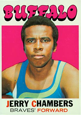 1971 Topps Jerry Chambers #13 Basketball Card