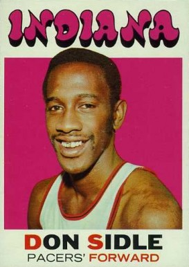 1971 Topps Don Sidle #161 Basketball Card