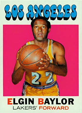 1971 Topps Elgin Baylor #10 Basketball Card