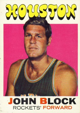 1971 Topps John Block #16 Basketball Card