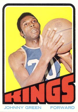 1972 Topps Johnny Green #48 Basketball Card