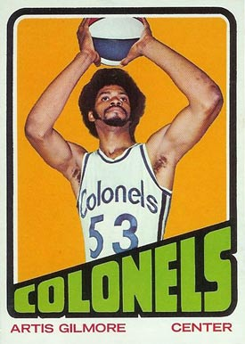 1972 Topps Artis Gilmore #180 Basketball Card