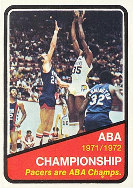 1972 Topps   #247 Basketball Card