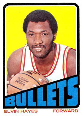 1972 Topps Elvin Hayes #150 Basketball Card