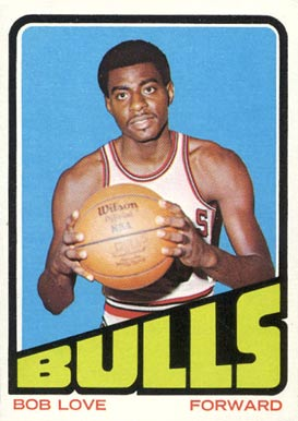 1972 Topps Bob Love #148 Basketball Card