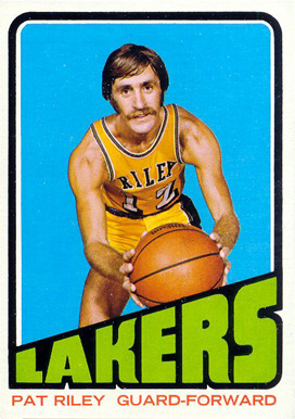 1972 Topps Pat Riley #144 Basketball Card