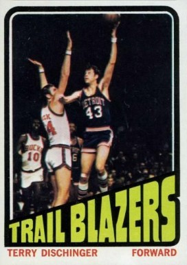 1972 Topps Terry Dischinger #143 Basketball Card