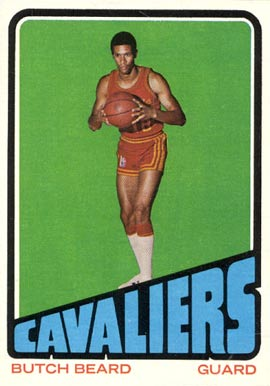 1972 Topps Butch Beard #142 Basketball Card