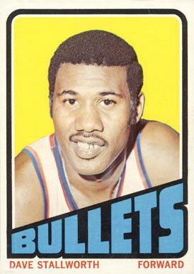 1972 Topps Dave Stallworth #132 Basketball Card
