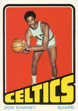 1972 Topps Don Chaney #131 Basketball Card