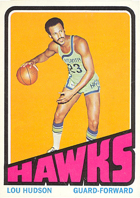 1972 Topps Lou Hudson #130 Basketball Card