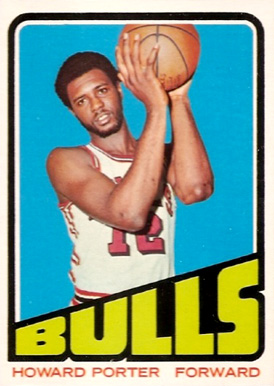 1972 Topps Howard Porter #127 Basketball Card
